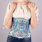 Одежда ручной работы. Ярмарка Мастеров - ручная работа Корсет из платка. Handmade.