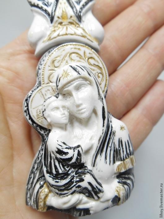 """Четки ручной работы. Ярмарка Мастеров - ручная работа. Купить Четки белые """"Дева Мария с младенцем"""". Handmade. Четки"""