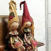 Куклы и игрушки handmade. Livemaster - original item Brownie gnome. Shun . Textile attic doll.. Handmade.