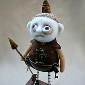 Рыцарь. Стимпанк.  Авторская коллекционная кукла.