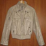 Винтаж handmade. Livemaster - original item Vintage clothing: Beige spring jacket of the German company Damo. Handmade.