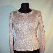 """Одежда ручной работы. Ярмарка Мастеров - ручная работа Пуловер """"Розовый жемчуг"""". Handmade."""