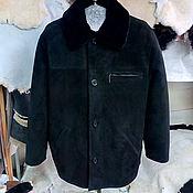 Одежда ручной работы. Ярмарка Мастеров - ручная работа Куртка мужская из нагольной овчины на. Handmade.