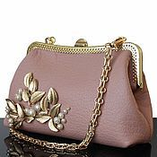 Сумки и аксессуары handmade. Livemaster - original item Leather handbag, leather clutch, evening bag, handbag. Handmade.