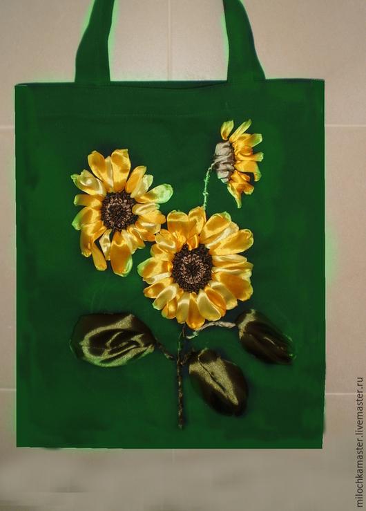 Сумки и аксессуары ручной работы. Ярмарка Мастеров - ручная работа. Купить сумка с вышивкой летняя. Handmade. Рыжий, желтый