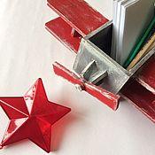 Комплекты аксессуаров для дома ручной работы. Ярмарка Мастеров - ручная работа Короб-самолет. Handmade.