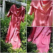 Одежда ручной работы. Ярмарка Мастеров - ручная работа платье из льна   розовое настроение. Handmade.