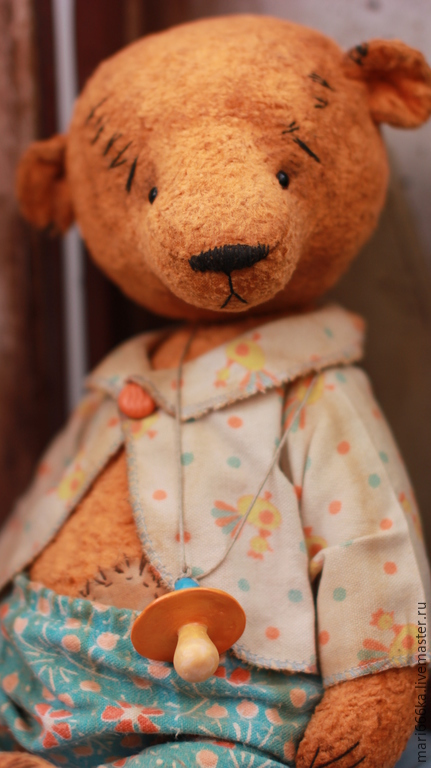 Мишки Тедди ручной работы. Ярмарка Мастеров - ручная работа. Купить Лёня.. Handmade. Золотой, винтажная фурнитура