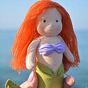 Куклы и игрушки ручной работы. Ярмарка Мастеров - ручная работа Детская игровая куколка Русалочка Ариэль. Handmade.