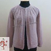 Одежда handmade. Livemaster - original item Knitted wool cardigan