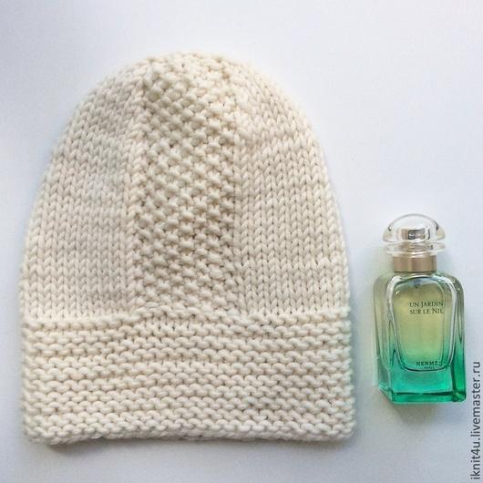 Шапки ручной работы. Ярмарка Мастеров - ручная работа. Купить Белая. Handmade. Белый, шапка женская, стиль, Тренд сезона