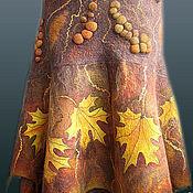 """Одежда ручной работы. Ярмарка Мастеров - ручная работа юбка валяная из войлока """"Листопад"""". Handmade."""