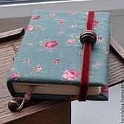 Канцелярские товары ручной работы. Ярмарка Мастеров - ручная работа Маленький зеленый блокнот. Handmade.