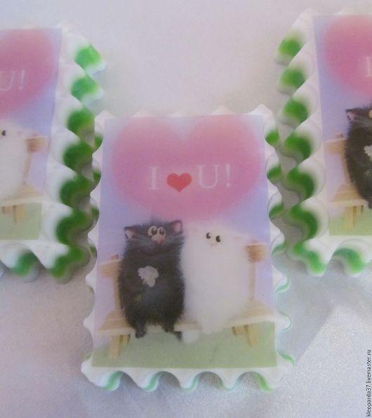 """Подарки для влюбленных ручной работы. Ярмарка Мастеров - ручная работа. Купить Мыло сувенирное """"Я тебя люблю!"""".. Handmade. Комбинированный"""