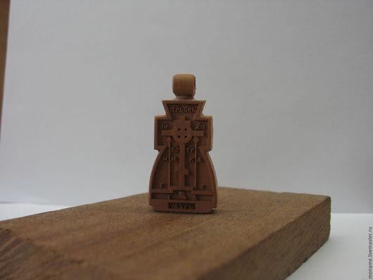 Кулоны, подвески ручной работы. Ярмарка Мастеров - ручная работа. Купить Резной нательный крестик. (Арт.003). Handmade.