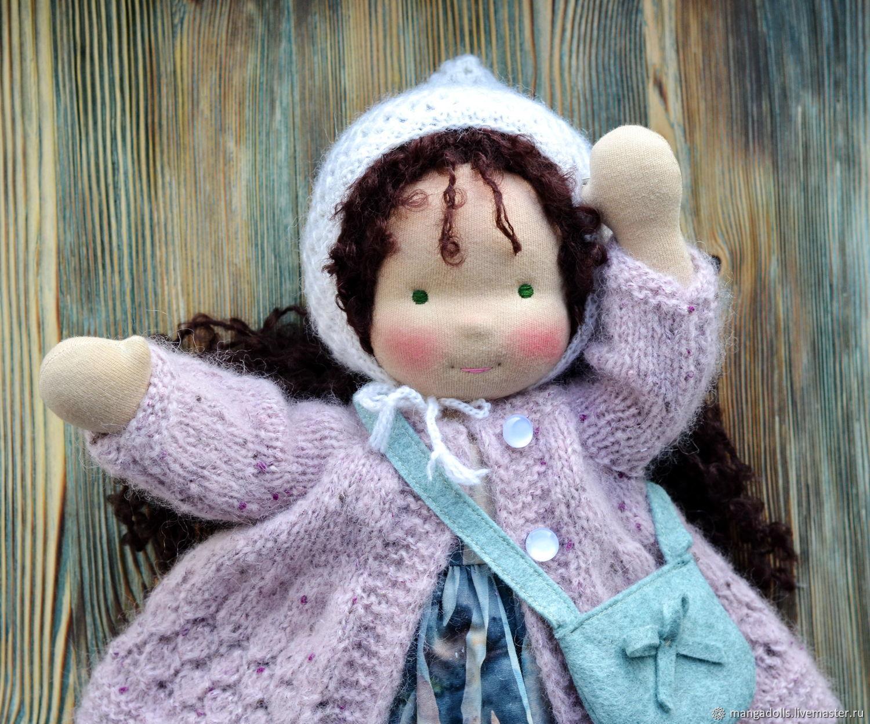 Вальдорфская кукла Наташенька, Вальдорфские куклы и звери, Томск,  Фото №1