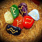 Фен-шуй и эзотерика handmade. Livemaster - original item Chakra rune stones