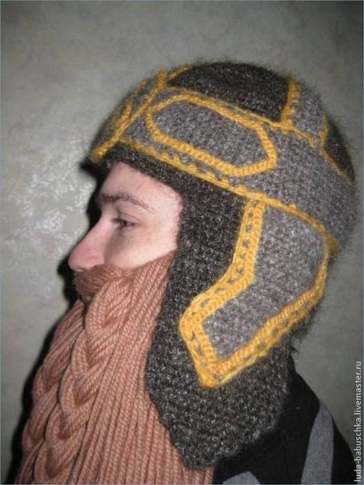 Этническая одежда ручной работы. Ярмарка Мастеров - ручная работа. Купить Шапочка для мальчика. Handmade. Серый, шапка для мальчика