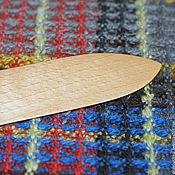 Материалы для творчества ручной работы. Ярмарка Мастеров - ручная работа Нож для ручного ткачества. Handmade.