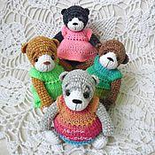Куклы и игрушки ручной работы. Ярмарка Мастеров - ручная работа Мишки мини Пухлики. Handmade.