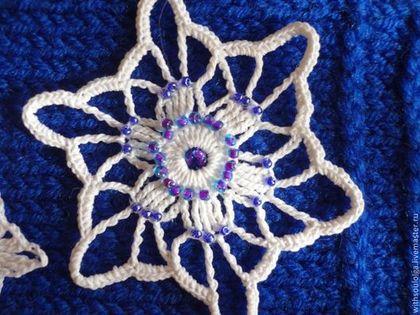 Одежда для девочек, ручной работы. Ярмарка Мастеров - ручная работа Повязка на голову вязаная. Handmade.