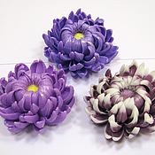 Косметика ручной работы handmade. Livemaster - original item Soap Chrysanthemum. Handmade.