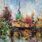 Картины и панно handmade. Livemaster - original item Abstract oil painting No. №2, oil painting. Handmade.