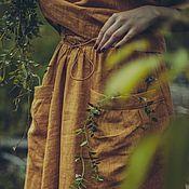 """Одежда ручной работы. Ярмарка Мастеров - ручная работа Льняной костюм """"За полуднем"""". Handmade."""