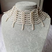 Украшения handmade. Livemaster - original item Necklace-stand Pearl. Handmade.