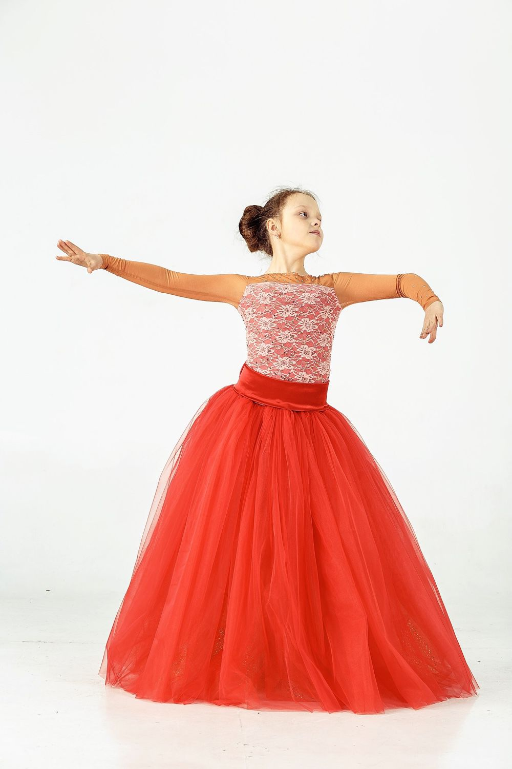 92cf0333c76 Dance Costumes handmade. Ballroom dress for dance GOLD GIATHINT.  EleganceTS. Online shopping on ...