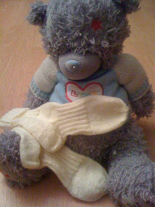 Носки, Чулки ручной работы. Ярмарка Мастеров - ручная работа. Купить Носки ручной работы из мохера. Handmade. Однотонный