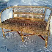 """Для дома и интерьера ручной работы. Ярмарка Мастеров - ручная работа Диван плетёный """"Аляска"""". Handmade."""