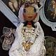 Человечки ручной работы. Кукла Иванка. Darya Ve (Belvederestile). Ярмарка Мастеров. Ручная работа handmade, Кукла в платье, кружева