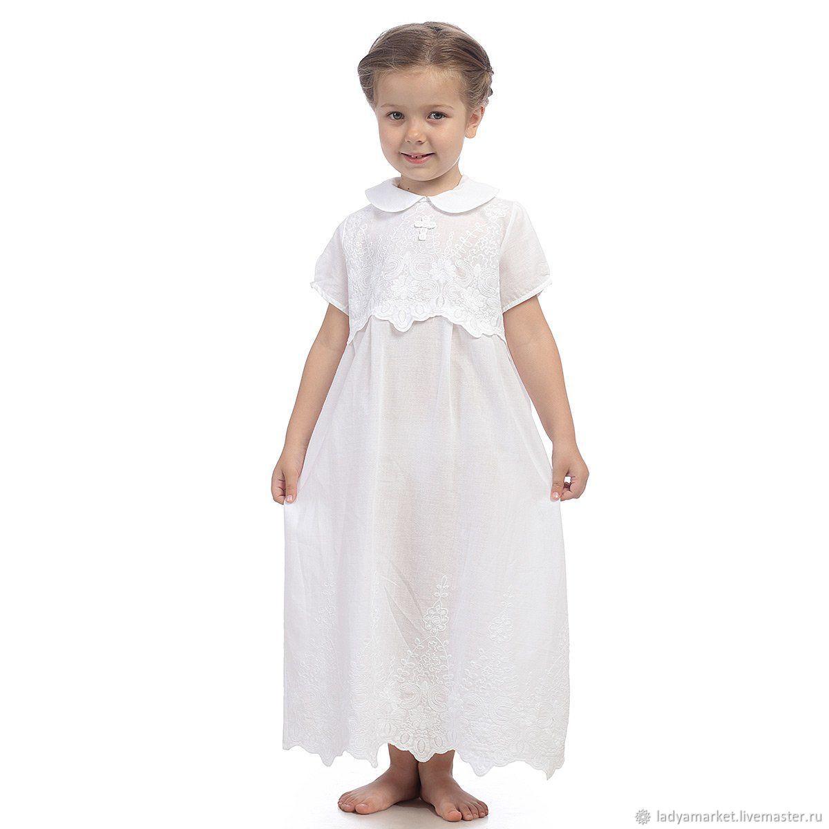 Крестильные принадлежности ручной работы. Ярмарка Мастеров - ручная работа. Купить Крестильное платье 'Анюта'. Handmade. Крещение, крещение ребенка