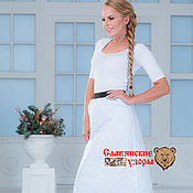 Одежда handmade. Livemaster - original item Skirt polyester two-way. Handmade.