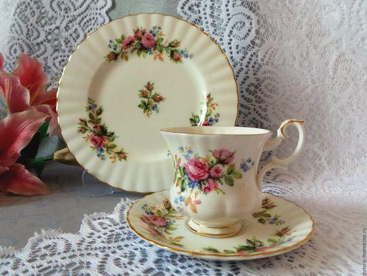 Винтажная посуда. Ярмарка Мастеров - ручная работа. Купить Кофейное трио, Royal Albert, фарфор, винтаж, Англия. Handmade. Фарфор