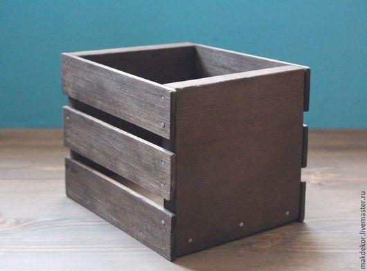 Деревянный ящик, деревянный короб