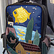 The first backpack of our joint with Tatiana Popova production.