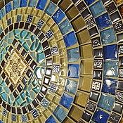Для дома и интерьера handmade. Livemaster - original item Wrought iron table with mosaic top.. Handmade.
