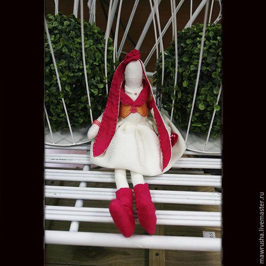 Куклы Тильды ручной работы. Ярмарка Мастеров - ручная работа. Купить Длинногогие зайчата. Handmade. Комбинированный, заяц тильда