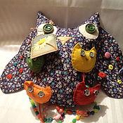 Куклы и игрушки ручной работы. Ярмарка Мастеров - ручная работа игрушка развивашка Сова. Handmade.
