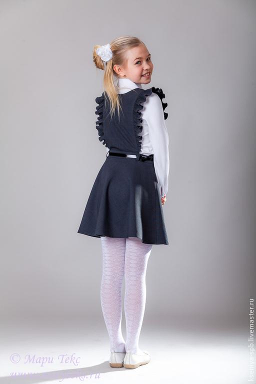 Юбки и сарафаны для девочек фото