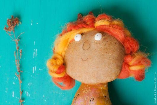 рыжая кукла, рыжик, кукла рыжая купить, кукла в подарок, кукла в коллекцию, интерьерная кукла, кукла в подарок подруге