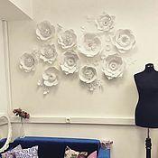 Свадебный салон ручной работы. Ярмарка Мастеров - ручная работа Бумажная роза. Handmade.