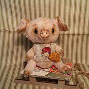Куклы и игрушки ручной работы. Ярмарка Мастеров - ручная работа Поросёнок Чуня. Handmade.