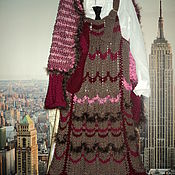 Одежда детская handmade. Livemaster - original item sundresses: Sundress with vest