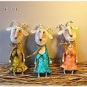 Куклы и игрушки ручной работы. Ярмарка Мастеров - ручная работа Коза дереза. Handmade.