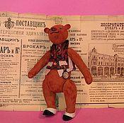 Куклы и игрушки ручной работы. Ярмарка Мастеров - ручная работа замшевый Жюль. Handmade.