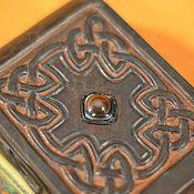 """Фен-шуй и эзотерика ручной работы. Ярмарка Мастеров - ручная работа Чехол для колоды среднего размера """"Кельтский крест"""". Handmade."""