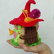 Кукольные домики ручной работы. Ярмарка Мастеров - ручная работа Домик для пальчикового театра. Handmade.